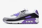 王一博广告款 CD0881-104 Nike Air Max 90 白灰紫