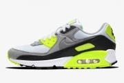 王一博上脚款 CD0881-103 Nike Air Max 90 白灰绿