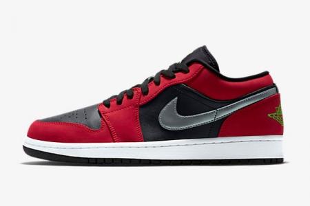 553558-036 Air Jordan 1 Low 乔1黑红