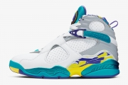 "AJ8白水鬼3M反光女款 CI1236-100 Air Jordan 8 Retro ""White Aqua"""
