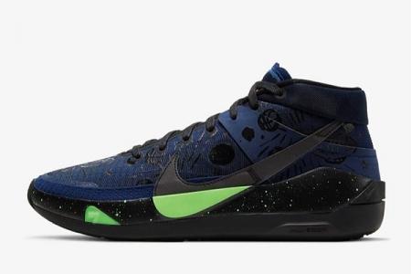 KD13篮球之星配色 CI9949-400 Nike KD13 EP
