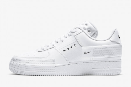 空军一号N354 CT2584-100 Nike AF1-Type 2 白色
