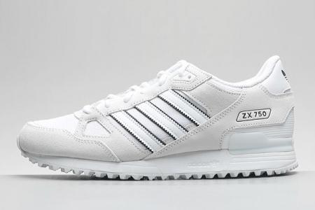 BY9273 adidas ZX750 三叶草复古跑鞋